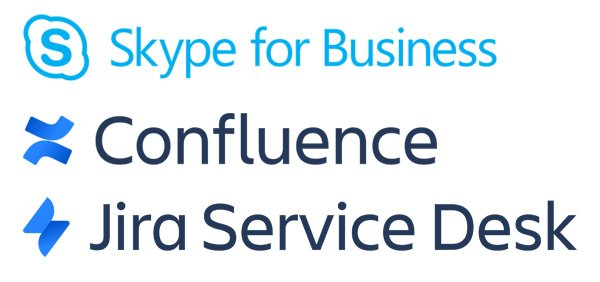Skype for Business Confluence Jira Service Desk