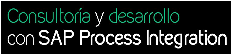 Consultoria y desarrollo con SAP Process Integration